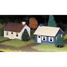 Bachmann 45608 Cape Cod Houses, Bachmann Plasticville
