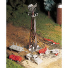 Bachmann 45603 Windmill w/Farm Machinery, Bachmann Plasticville