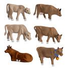 Lionel 1930290 Cows & Calves (Brown) 6Pk