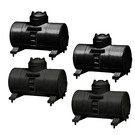 Lionel 1957300 Tank Containers4-Pk, black