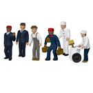 Lionel 1957130 Station Service Crew, HO