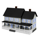 Lionel 1967120 Farm House Kit, HO
