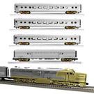 """Lionel 1922040 Santa Fe """"Gold Bonnet"""" Passenger Set"""