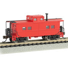 Bachmann 16856 Northeast Caboose, Red Unlettered, N Scale