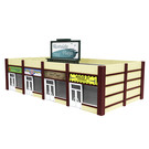 Lionel 1956180 Suburban Strip Mall, HO Scale