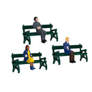 Lionel 1930190 Sitting People w/Benches, O Scale