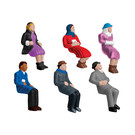 Lionel 1930220 Sitting People, O scale