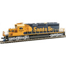 Kato 37-6617 EMD SD40-2 AT&SF Diesel #5088