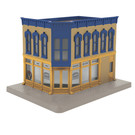 MTH 30-90475 Corner Building w/Blinking Sign
