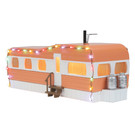 30-90579 Mobile Home w/Christmas Lights