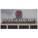 Miller Engineering 2781 General Electric Animated Neon Sign