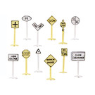 Bachmann 42513 Railroad & Street Signs pkg(24), N Scale