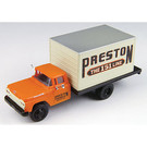Classic Metal Works 30453 '60 Ford Box Truck Preston Freight Co, HO Scale