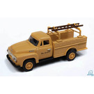 Classic Metal Works 30540 1954 Ford Hi-Rail Truck Rio Grande DRGW, HO Scale