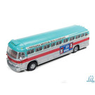 Classic Metal Works 32314 GMC PD 4103 Intercity Bus Eisenhower Campaign, HO Scale