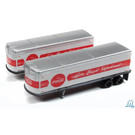 Classic Metal Works 51182 AeroVan Trailer Coca-Cola, N Scale