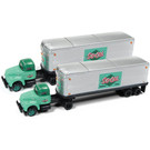 Classic Metal Works 51178 IH R190 Semi Tractor-AeroVan Trailer 2-Pack So-Cal Freight, N Scale