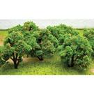 JTT 92121 Orange Fruit Grove Tree, HO Scale