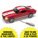Menard's 3803 Lighted 1965 Ford Shelby GT350 Red