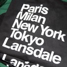 Discover Lansdale 'Favorite Cities' Long Sleeve, Black - XL