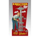 Miller Engineering 88-1201 AC Gilbert Erector Animated Billboard, Large