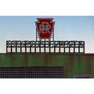 Miller Engineering 4281 Pennsylvania RR Animated Billboard, Large