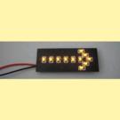 Miniatronics 100-711-05 Single Flashing Arrow 5 Pack, HO Scale