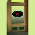 Miller Engineering 8880 Bail Bonds Neon Window Sign
