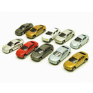 Trainpops Attic Assorted N Scale Vehicles, 10-Pack