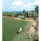 Busch 1202 Corn Field, HO Scale