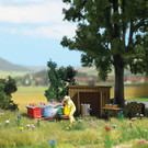 Busch 1179 Beekeeping (Apiary) Set, HO Scale