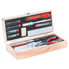 Excel Hobby Blades 44291 Deluxe Ship Modellers Set w/Wooden Box