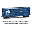 Accurail 84104 MRR MR&T 40' Double Door Boxcar Kit