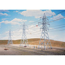 Walthers 933-3121 High-Voltage Transmission Towers, HO Scale