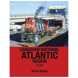 Morning Sun Books 1701 Canadian National Atlantic Region In Color