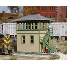 Walthers 933-3071 Interlocking Tower Kit, HO Scale