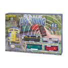 Bachmann 1501 Blue Lightening E-Z App Train Set, Bachmann HO