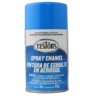 Testors 1208 Light Blue - Gloss Enamel Spray, 3oz