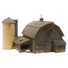 Walthers BR4932 Old Weathered Barn, N Scale