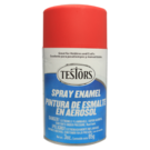 Testors 1250 Red - Flat Enamel Spray, 3oz