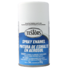 Testors 1258 White - Flat Enamel Spray, 3oz
