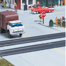 Walthers 933-3137 Rubber Mat Grade Crossing, HO Scale