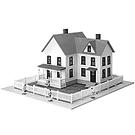 Model Power 488 The Sullivan House, HO Scale