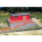Bachmann 46209 Storage Building with Steam Whistle, HO Scale