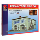 Life-Like 7483 Volunteer Fire Company, N Scale