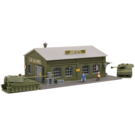 Model Power 2595 United States Army Munitions Depot, N Scale