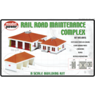 Model Power 1584 Railroad Maintenance Complex, N Scale