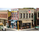 Woodland Scenics PF5812 Main Street Mercantile Kit, HO Scale
