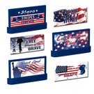 Lionel 2030050 Stars & Stripes Billboards, 3Pk