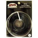 Atlas O 315 Atlas 50' black stranded wire, # 20 ga.